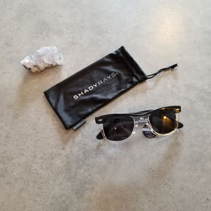 NWT Shady Rays Classic Clear Streaks Polarized